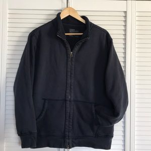 J CREW heavy fleece jacket